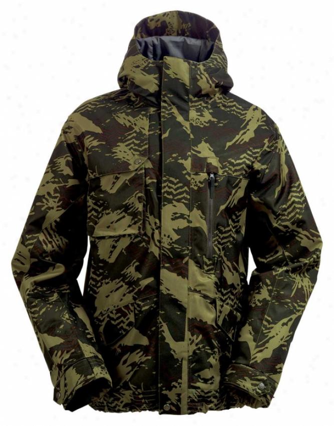 Burton Gmp Ezquire Snowboard Jacket Resin Camo