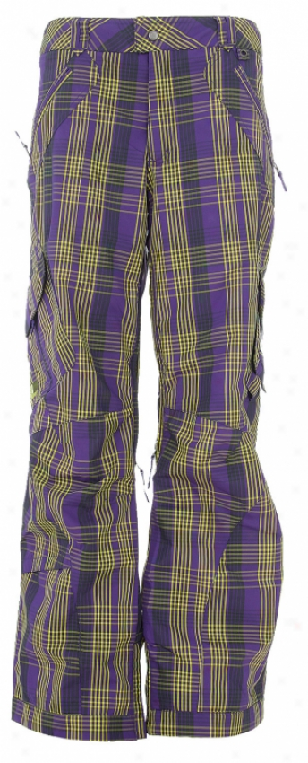 Burton Gmp Fly Snowboard Pants Pansy Gmp Plaid