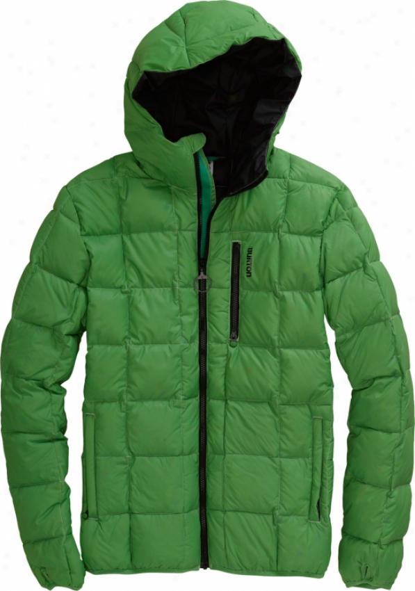 Burton Groton Down Snowboard Jacket Astro Turf