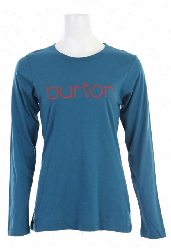 Burton Her Logo L/s Shirt Azul