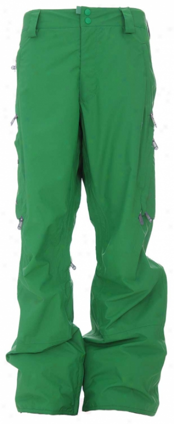 Burton Idiom 2l Snowboard Pants Id Green