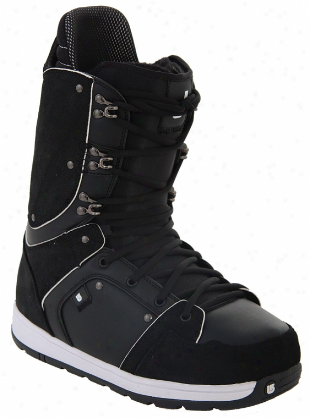 Burton Jeremy Jones Snowboard Boots Black/white