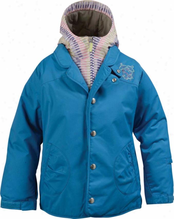 Burton Jewel System Snowboard Jacket Blue Topaz