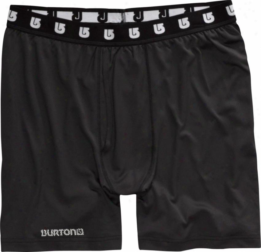 Burton Lightweight Boxer First Laye Shorts True Black