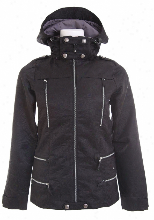 Burton Ltd Elevation Snowboard Jacket True Mourning Matelesse