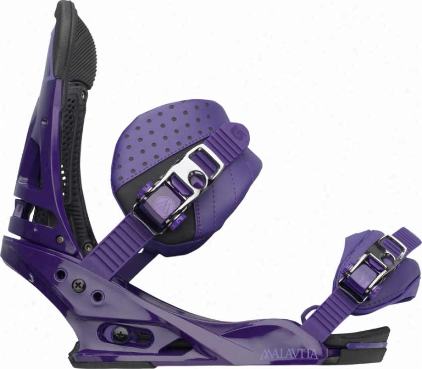Burton Malavita Snowboard Bindings Violent