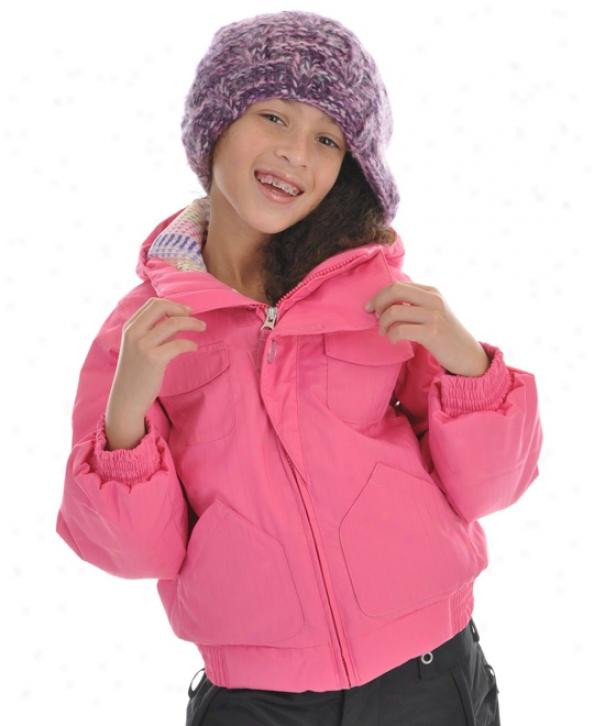 Burton Mini Lavish Bomber Snowboard Jacket Lull N Rose