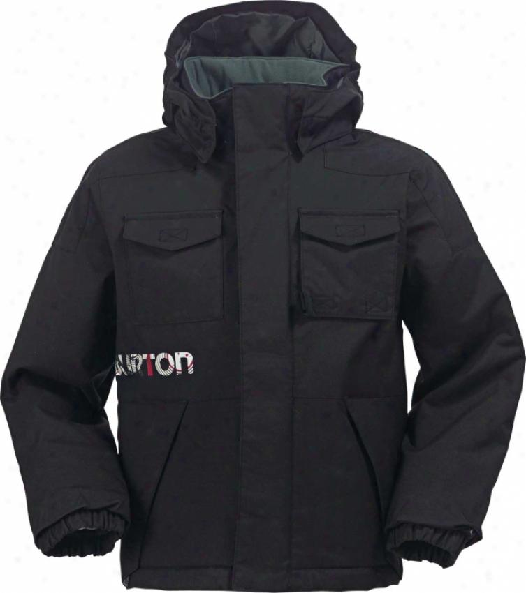 Burton Mini Shred Toddler Snowboard Jacket True Black