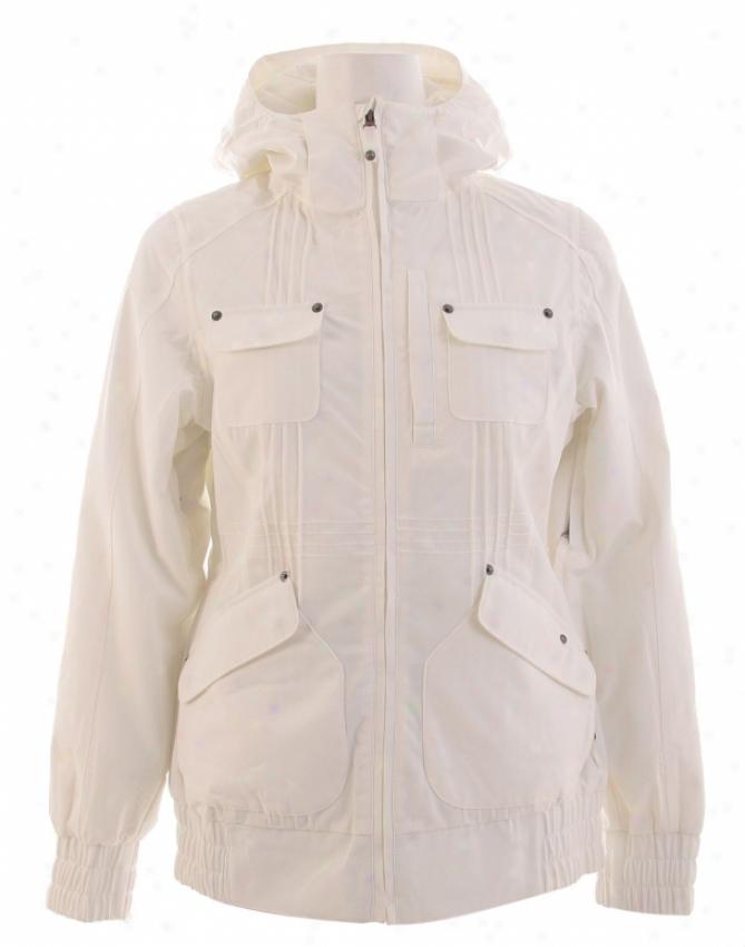 Burton Mutiny Snowboard Jacket Bright White