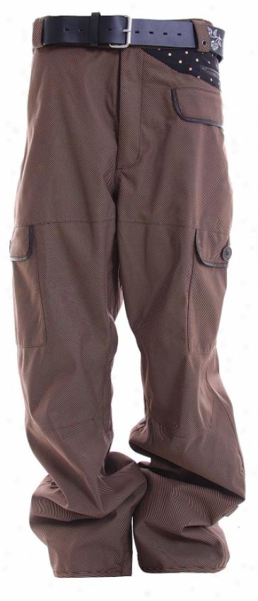 Burton Noble Gentleman Snowboard Pants Mocha