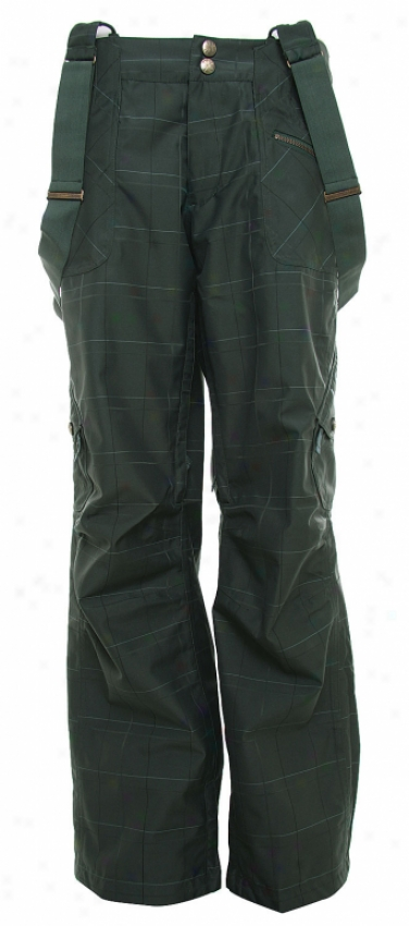 Burton Pendant Snowboard Pants Forest Plaid