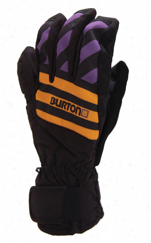 Burtn Profile Under Snowboard Gloves Blackout