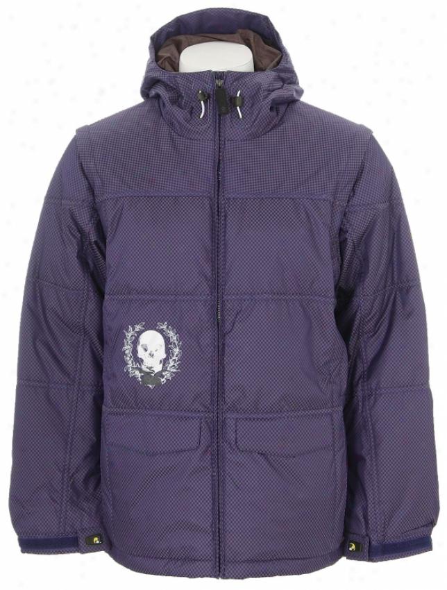Burton Ronin 6/4 Down Snowboard Jacket Merlin