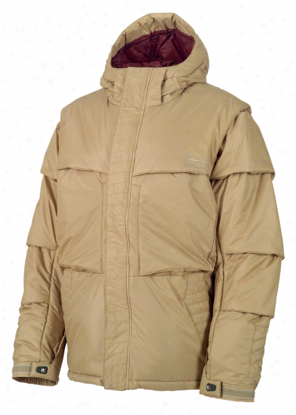 Burton Ronin Puffy Snowboard Jacket Dune