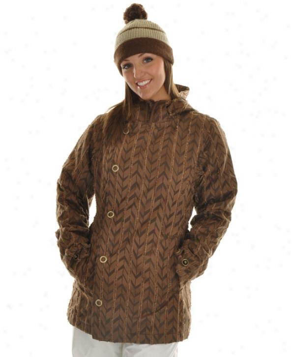 Burton Royal Snowboard Jacket Chestnut