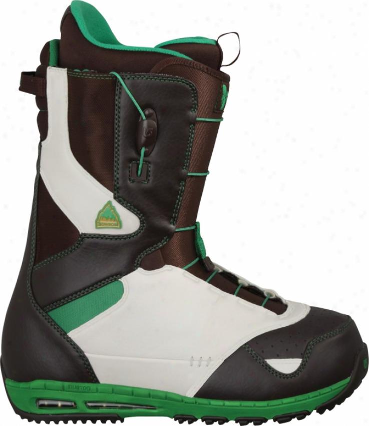 Burton Ruler Snowboard Boots Brown/tan/green
