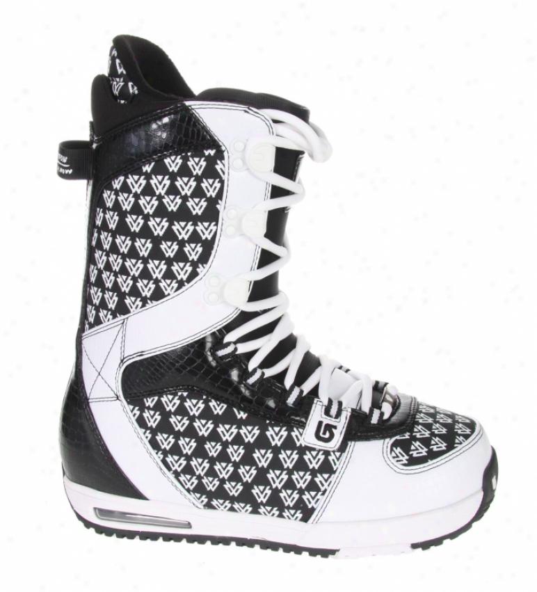 Burton Shaun Happy Snowboard Boots White/black