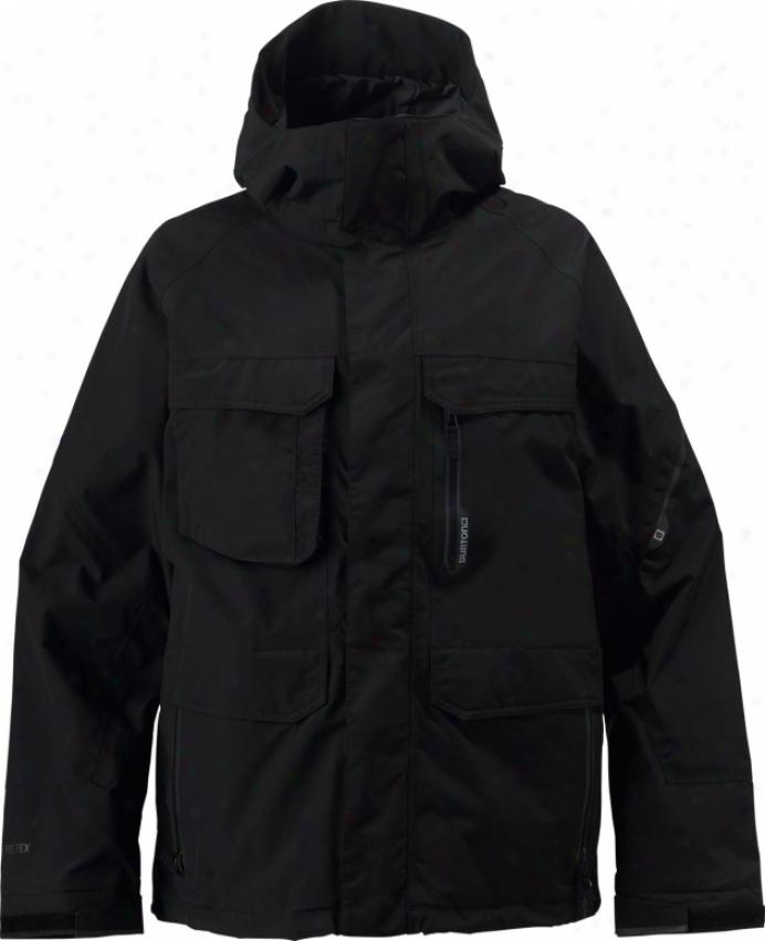 Burton Shelter Snowboard Jacket True Bkack