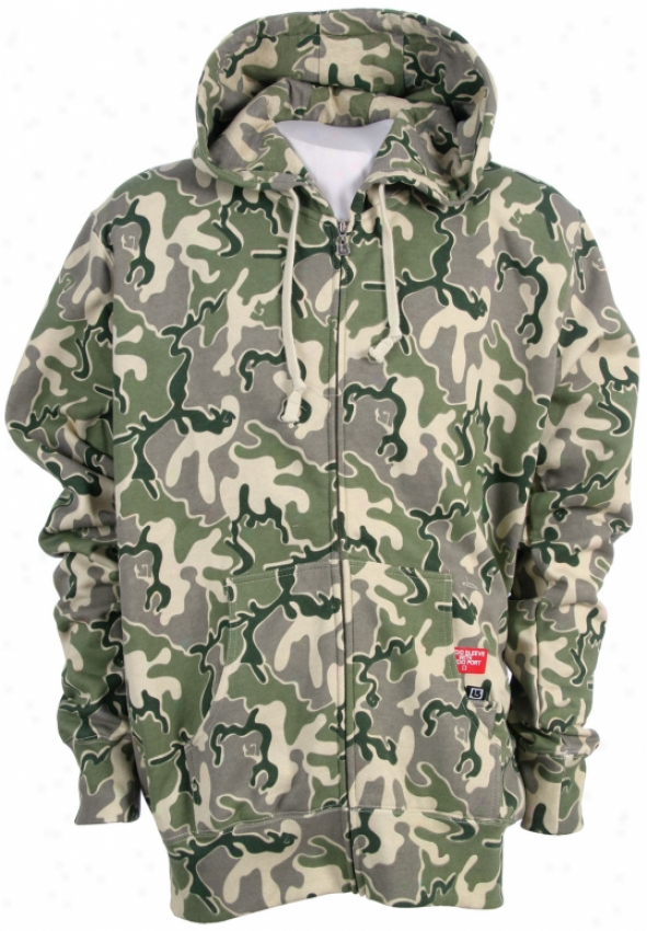 Burton Sightings Zip Hoodie Camo