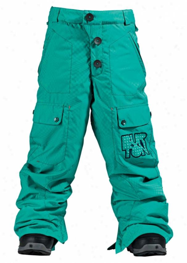 Burton Smalls Cargo Snowboard Pants Meridian Optiweave