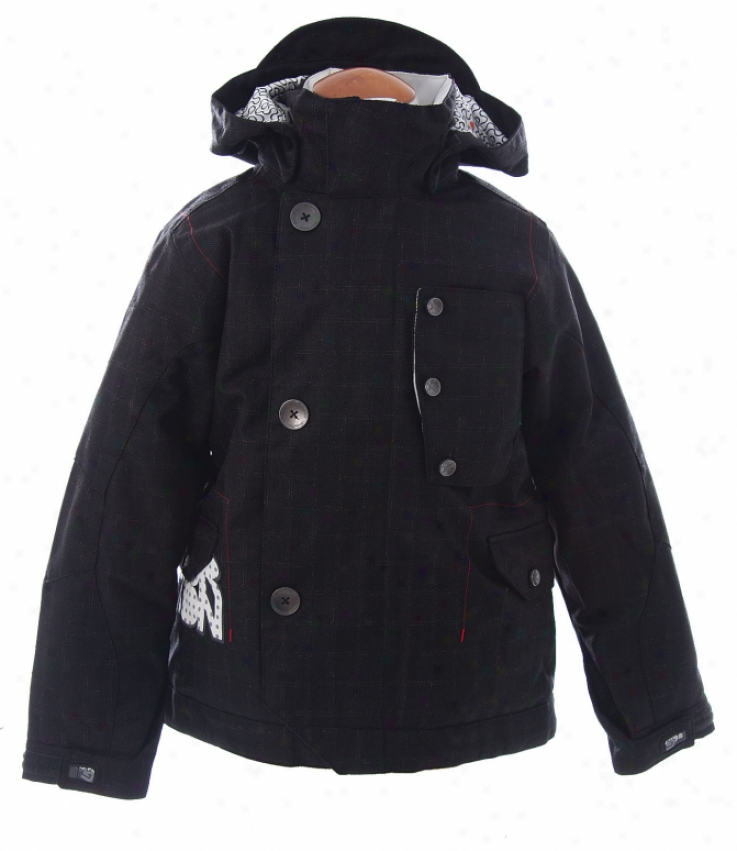 Burton Smalls Team Snowboard Jacket True Black