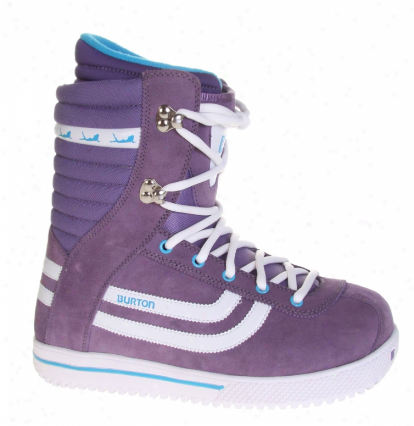 Burton Stumpy Snowboard Boots Purple