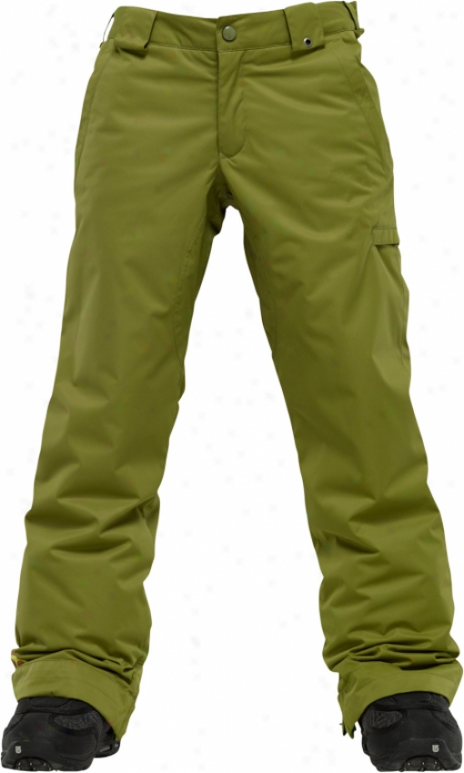 Burton Sweetart Snowboard Pants Green Bean