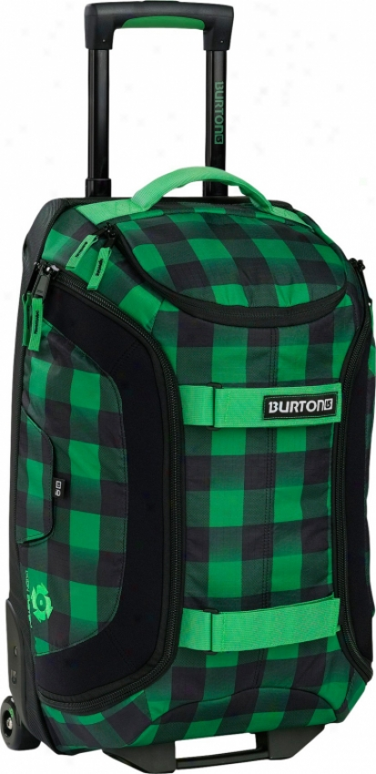 "Burton Tech Kindle 21"" Carry On Travel Bag Astro Buffade Plaid"