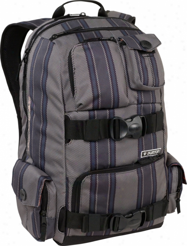 Burton The Whie Collection Backpack Bajz Stripe