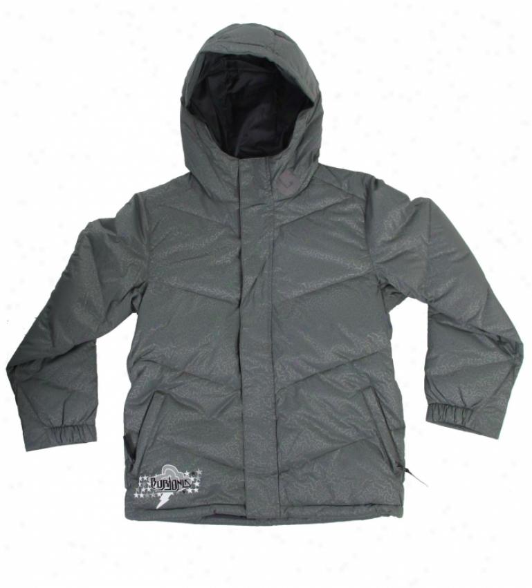 Burton Throw Down Snowboard Jacket Gunmetal