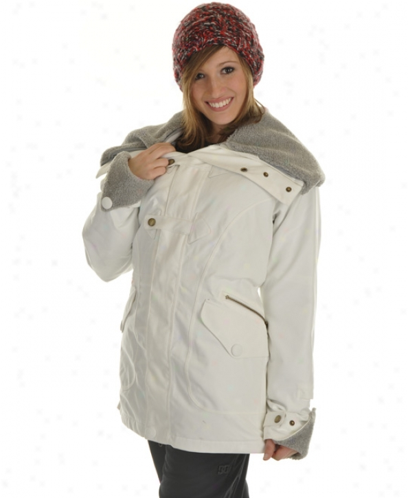 Burton Thunder Snowboard Jacket Bright White