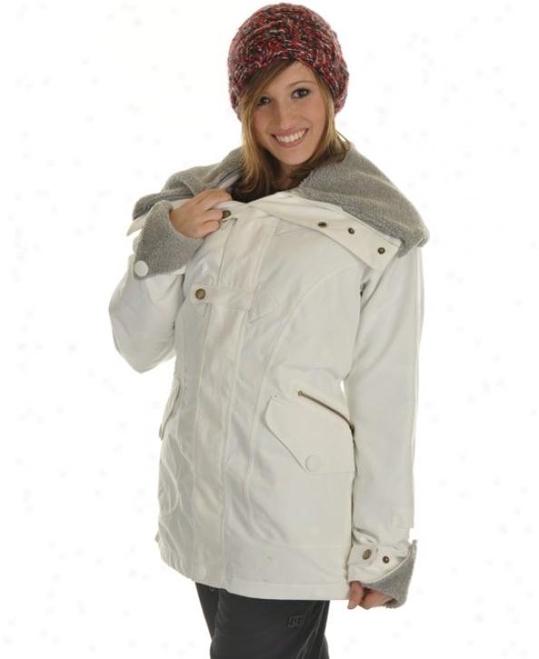 Burton Thunder Snowboard Jacket Bright White