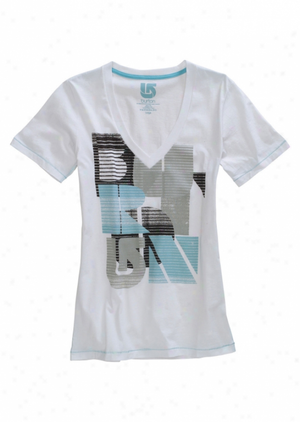 Burton Toxic T-shirt Bright White