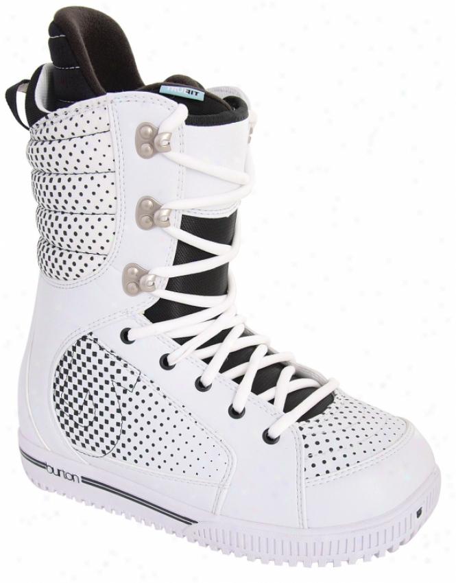 Burton Tryst Snowboard Boots White/black