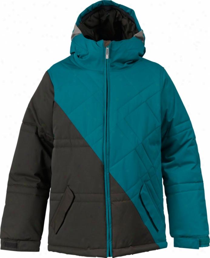 Burton Twc Puffaluffagus Snowboard Jacket Havana/prism