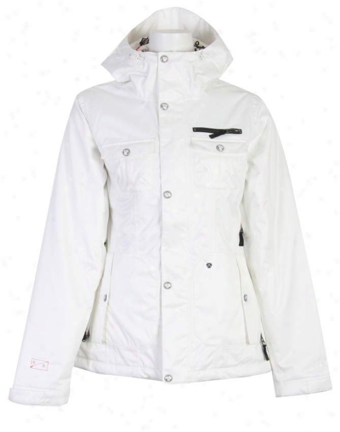 Burton Tac Riding Snowboard Jacket Bright White