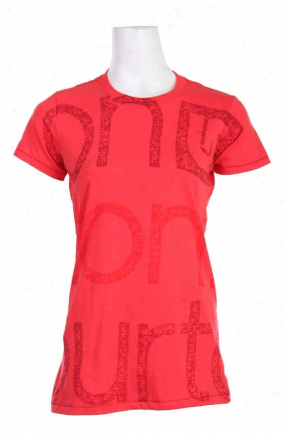 Burton Zoom Bte T-shirt Electro Red