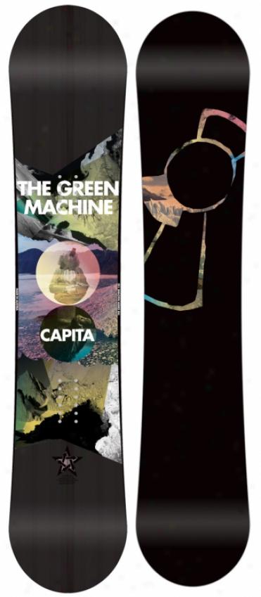 Capita The Green Machine Fk Snowboard 158