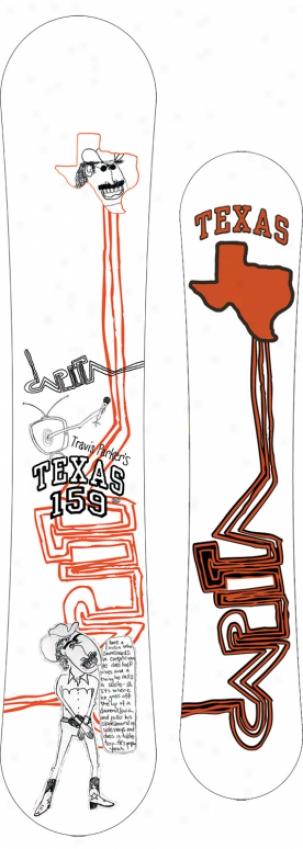 Capita Travis Parker's Texas Snowboard 159