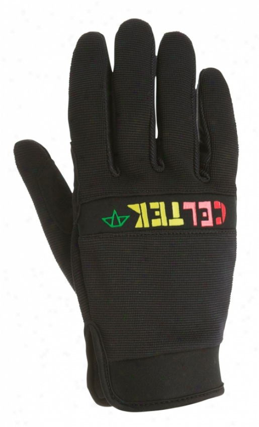 Celtek Misty Snowboard Gloves Black