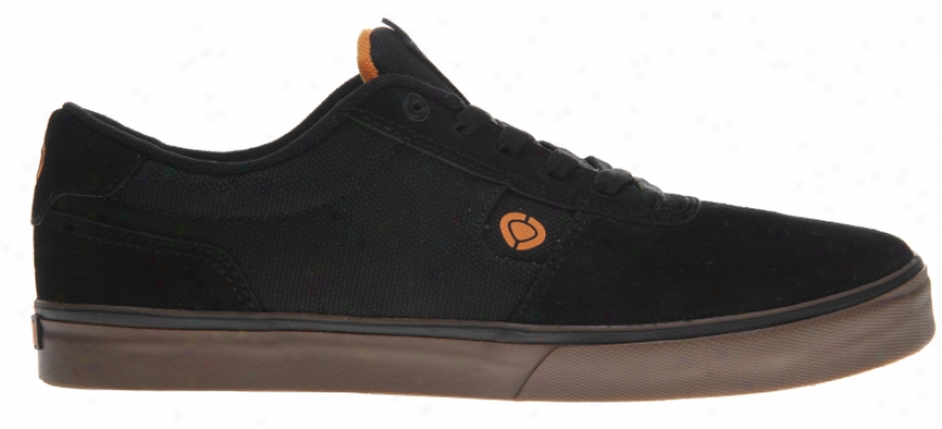 Circa Lamb Skate Shoes All Black