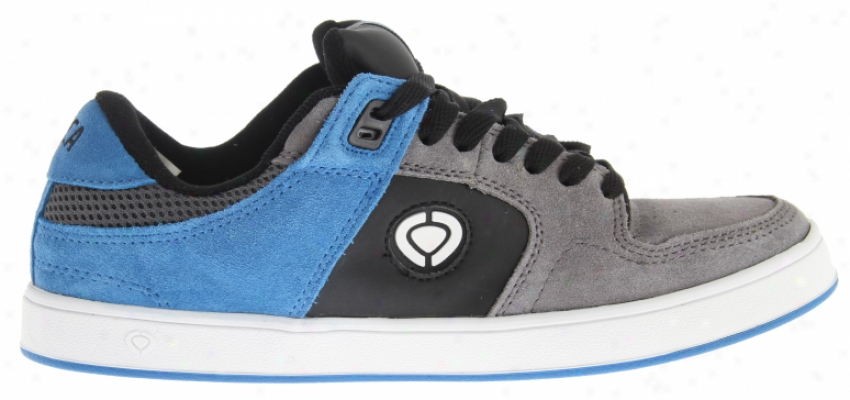 Circa Tave Tt2 Skate Shoes Dark Gull/blue
