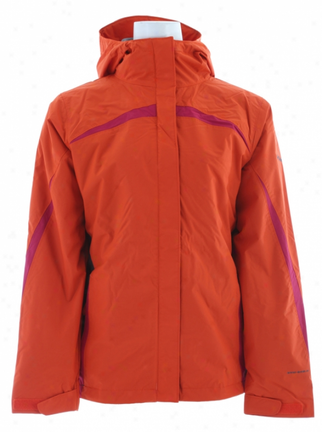 Columbia Argon Ice Jacket Autumn Orange/coal/rouge