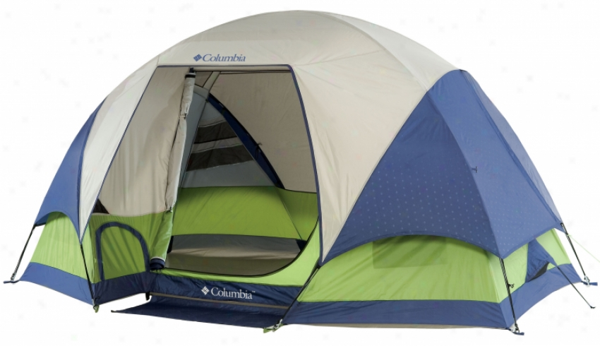Columbia Black Mount 5 Person Tent Green/blue