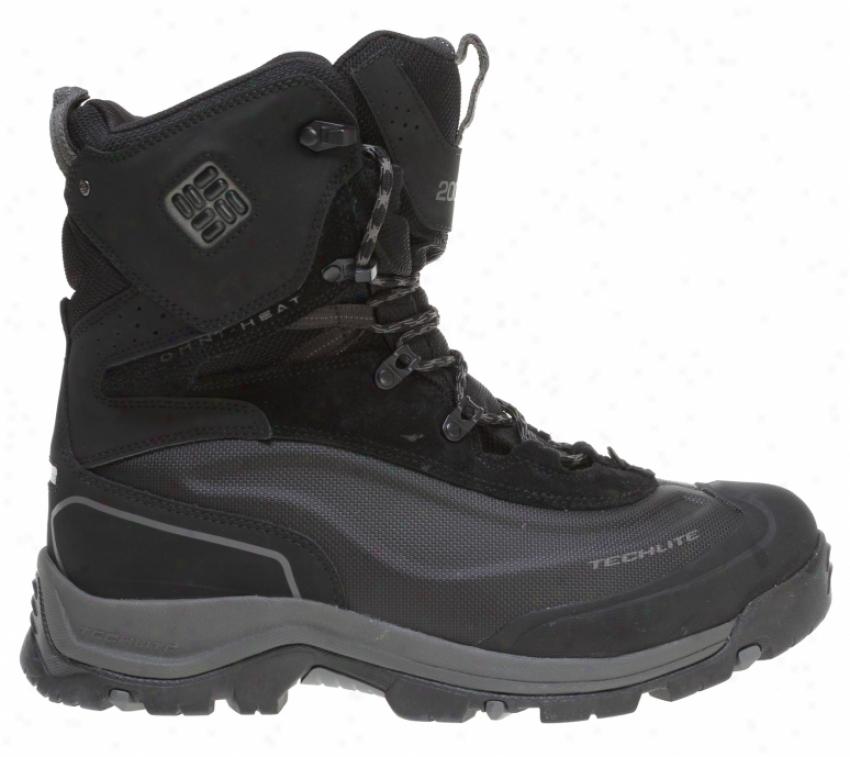 Columbia Bugaboot Plus Hiking Boots Black/gunmetal
