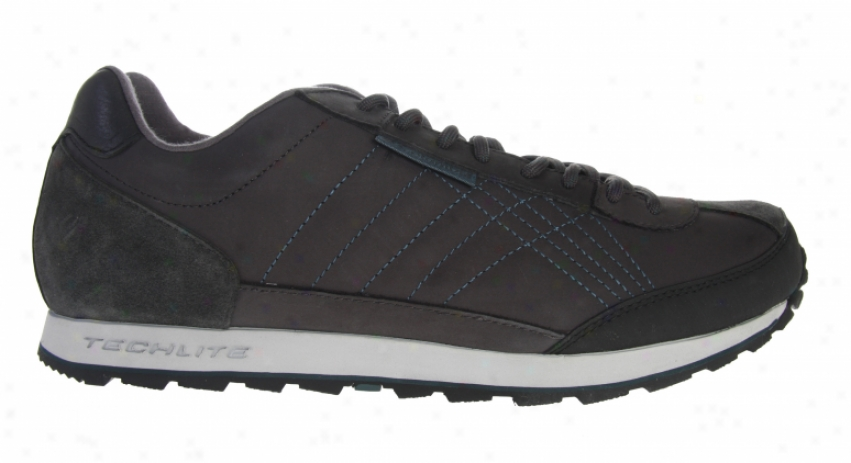 Columbia Centracer Leather Hiking Shoes Coal/deep Teal