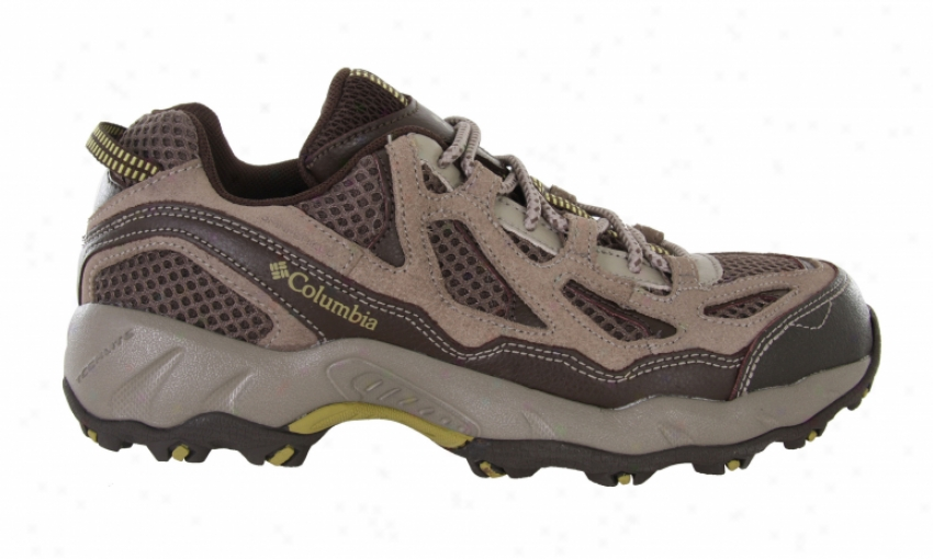 Columbia Dogwood Hiking Shoes Mud/lemongrass