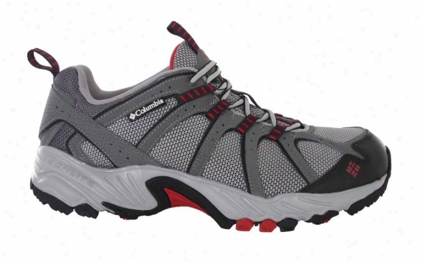 Columbia Kaibab Hiking Shoes Charcoal/chili