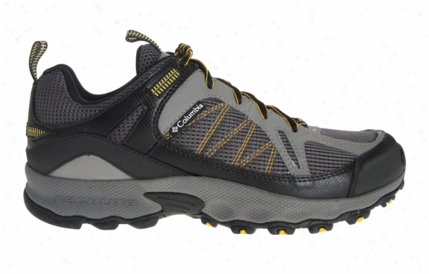 Columbia Switchback Low Hiking Shoes Charcoal/cyber Yellow