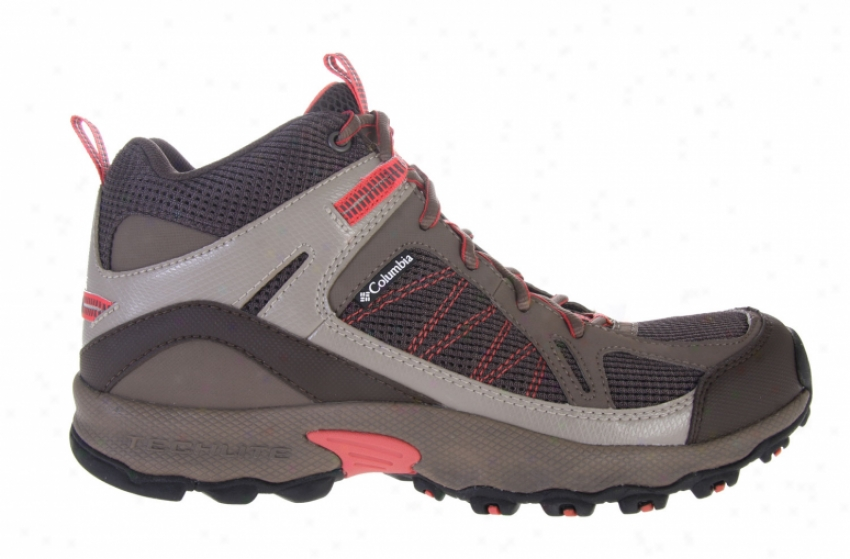 Columbia Switchback Mid Hiking Shoes Buffalo/pompom